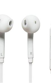 wit in-ear hoofdtelefoon headset oortelefoons voor samsung, pc, mobiele telefoon