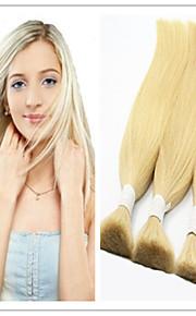 3шт / много виргинский бразильский основная волосы человеческие волосы основная масса плетение волос 613 # blondeno не потеряв не клубок