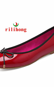rilihong®Women's Shoes Patent Leather Flat Heel Comfort/Round Toe/Closed Toe Flats Casual More Colors Available