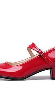 Женская обувь - Искусственная кожа - Номера Настраиваемый ( Черный/Красный/Серебряный ) - Современный танец