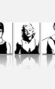 visuelle star®audrey Hepburn Toiles Tendues Marilyn Monroe maison de décoration arts étoiles