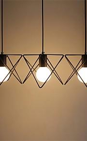 YL Chandeliers 3 LED Bulbs Ceiling Lights Classic/Rustic/Lodge/Vintage/Lantern/Metal Minimalist Style