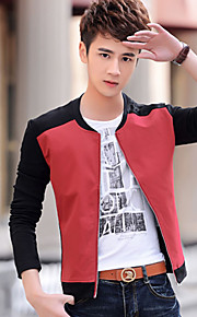 In the spring and autumn outfit new men han edition tide male leisure collar coat male thin coat