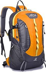 Paquetes de Mochilas de Camping ( Rojo/Negro/Azul/Morado/Naranja , 28 L)  Impermeable/Listo para vestir/MultifuncionalAcampada y