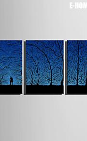 e-Home® venytetty kankaalle taidetta varjossa kansan koriste maalaus sarja 3