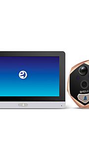 eques R22 wifi älykäs elektroninen ovikello Super hämäränäön liikkeentunnistuksen automaattista kamera pitkä valmiusaika