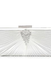 Handbag Silk Evening Handbags/Clutches/Mini-Bags/Wallets & Accessories With Crystal/ Rhinestone/Imitation Pearl