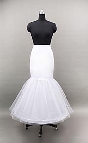 Déshabillés ( Filet de tulle/Polyester , Blanc ) - Robe sirène et robe évasée - 2 - 100cm