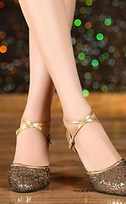 Женская обувь - Кожа/Пайетки - Номера Настраиваемый ( Синий/Красный/Золотой/Другое ) - Современный танец