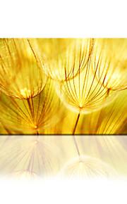 visuelle star®golden Blumenleinwanddruck neue Wandkunst fertig zum Aufhängen