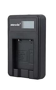 camera acculader met het scherm voor Olympus li40b zwart