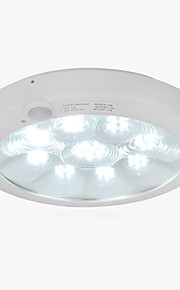 5-8 Metre Smart Infrared Body Induction Body Response LED Ceiling-mounted Light Ceiling Lamp 11W  (AC 220V)