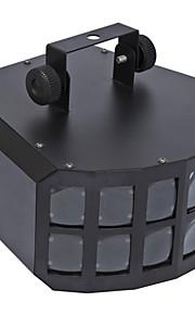 שליטת חרוזים מנורה הובילו כפולים הפרפר 2 * 10W שליטת DMX קול הנעה עצמית מתח רחב מצב
