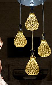 Hängande lampor - Living Room/Bedroom/Dining Room/Skaka pennan och tryck på spetsen innan du använder den. - Modern -Kristall/Flush Mount