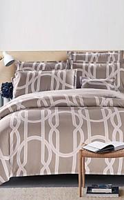 elegante conjunto de cama de design de 4pcs tecido lixa grossa para o Outono&temporadas de Inverno uso