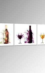 visuelle star®abstract bouteille de vin toile tendue Impression de photo numérique prêt à accrocher