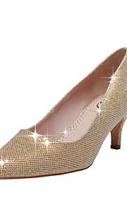 Chaussures de mariage - Rouge / Or - Mariage / Habillé / Soirée & Evénement - Bout Pointu / Bout Fermé - Talons - Homme