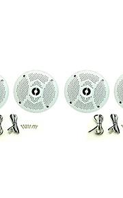 2Pairs(320Watts) 6.5inch 2 Way Marine Boat Waterproof Speakers for Outdoor Marine Boat SPA UV-Proof