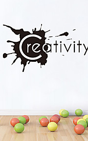 Wall Stickers Wall Decals Style Creativity English Words & Quotes PVC Wall Stickers