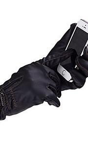 Guantes Ciclismo / Bicicleta Mujer / Hombres Dedos completos / Guantes de InviernoMantiene abrigado / Resistencia al desgaste /