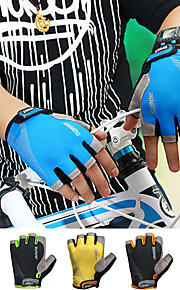 Guantes Ciclismo / Bicicleta Mujer / Hombres Guantes sin dedosA prueba de resbalones / A Prueba de Golpes / Transpirable / Permeabilidad