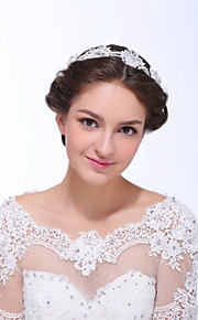 Women's Lace / Alloy / Imitation Pearl / Acrylic Headpiece - Wedding / Special Occasion / Casual Headbands 1 Piece