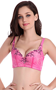 Triangle Cup Bras & Panties Sets , Push-up Cotton