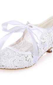 Chaussures de mariage - Noir / Rose / Ivoire / Blanc - Mariage / Soirée & Evénement - Bout Arrondi - Talons - Homme