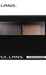FULLILANS. Soft Stereo Eyebrow Powder. Fine Powder The Color Is Pure. 2 COLOR. F-0015   3.8g
