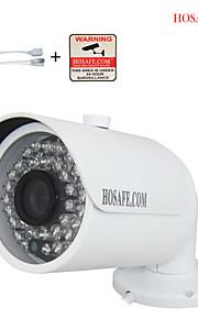 hosafe 720p / 960p / 1080p hd ip bullet kamera m / 36-IR-ledede, ONVIF, afsløring bevægelse, fri belønning PoE kabel