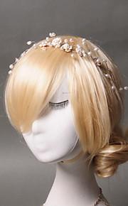 Celada Bandas de cabeza Boda / Ocasión especial / Casual Perla Artificial / Acrílico Mujer Boda / Ocasión especial / Casual 1 Pieza