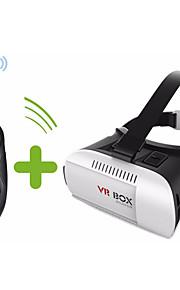 google luksus pap vr boks virtual reality 3d briller til iphone 6 plus 6 samsung + bluetooth controller