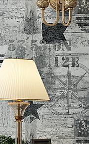 arbres/Feuilles Papier peint Rustique Revêtement , Papier pur Maple dark gray wallpaper