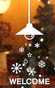Christmas Window Sticker Contemporary , Art Deco 85cm*28cm