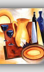 pintura al óleo pintada a mano abstracta / famoso / todavía / fantasía / estilo de ocio vida / moderna / realismo, lona un panel