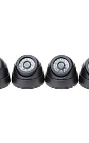 700tvl udendørs dag nat sikkerhed kamera og 8CH hdmi 960h netværk DVR-system