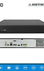cotier®25ch 1.5U 4hdd poort / 960P / hd / p2p cloud / NVR N25 / 1.5U-4