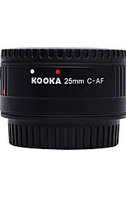 Kooka kk-c25p nilon plast makro AF 25mm forlængerrør til Canon EF&EF-S SLR-kameraer