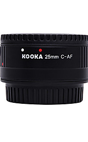 Kooka kk-c25p Nilon plastic macro AF 25mm verlengstuk voor Canon EF&EF-S slr-camera's