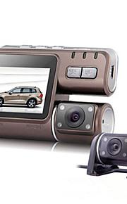 CAR DVD - 3 MP CMOS - 2560 x 1920 - Video ud / G-sensor / Vidvinkel / 1080P / Anti-stød / Still-billedfotografering
