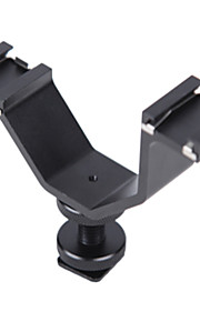micnova MQ-DHA coldshoe adapter til LCD-skærm mikrofon off-camera lommelygte LED lys