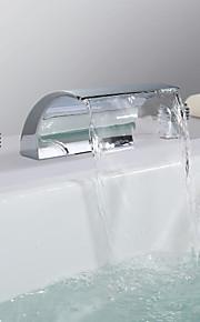 eigentijdse waterval RVS chroom