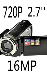 hd 720p 12MP digitale video camcorder camera dv dvr 2,7 '' TFT LCD 16x zoom