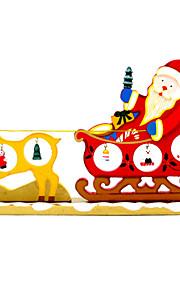 мультфильм дерево рождественские олени тянуть телеги украшения рабочего стола декоративные украшения поставляет творческие смешные игрушки
