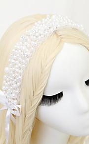 Hårband Headpiece Dam / Blomflicka Bröllop / Speciellt Tillfälle Legering / Imitation Pärla / Polyester Bröllop / Speciellt Tillfälle1