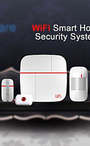 hjem sikkerhed alarmsystem med dør sensorer medicinsk opkald knap og bevægelsesdetektor