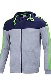 GRN® Men's Long Sleeve Hoodie & Sweatshirt , Cotton / Polyester Print