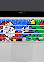 XSKN kerstman siliconen toetsenbord dekking van de huid voor de MacBook Air 13, macbook pro zonder netvlies 13 15 17, ons lay-out