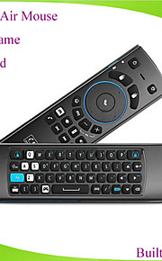 Mele F10 pro volare tastiera mouse dell'aria telecomando con auricolare&micphone 2.4ghz per contenitore di android TV