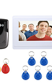Bedraad - Handsfree - One to One video deurintercom ( 7 , Gefotografeerd / RFID )
